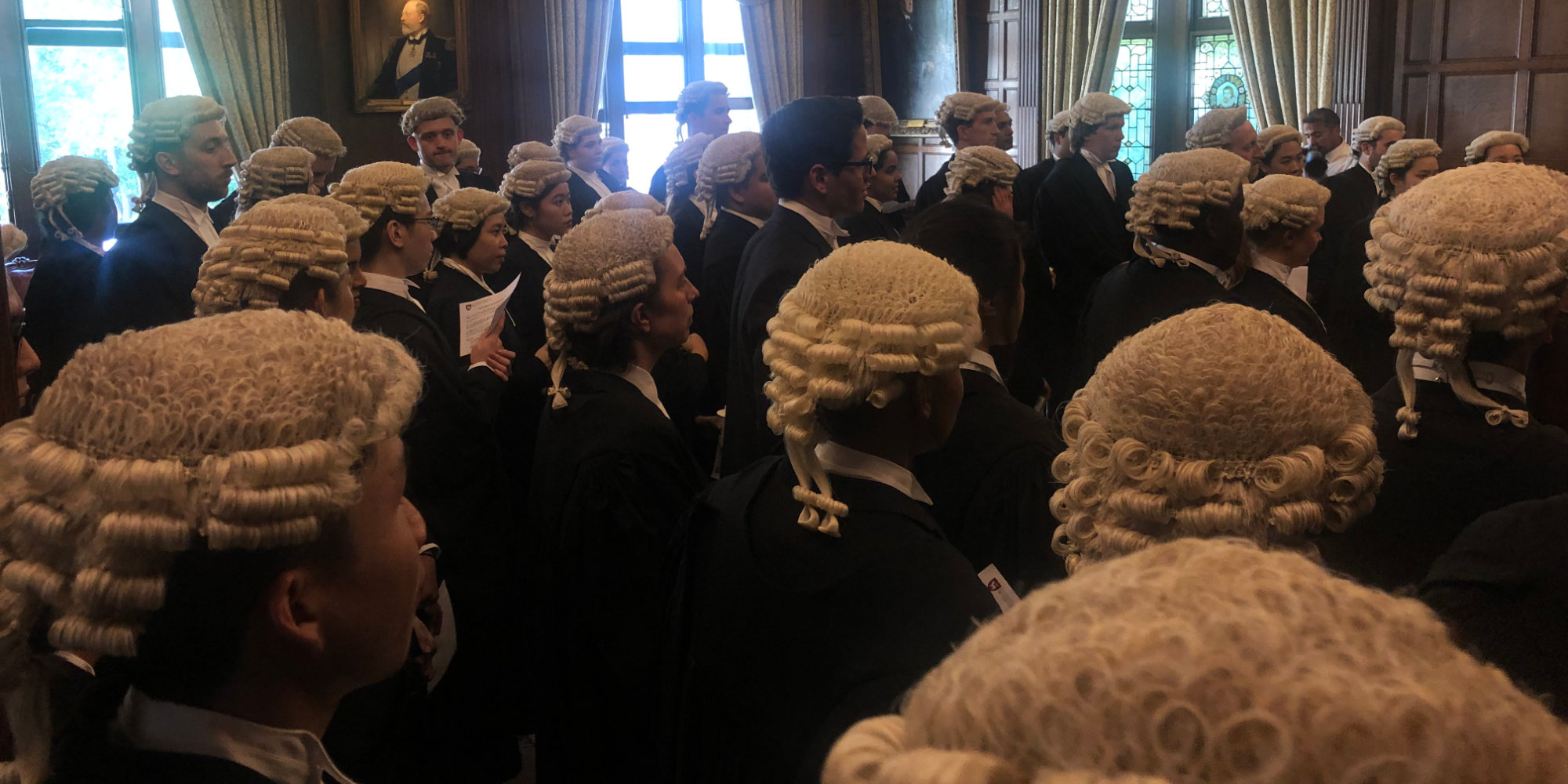 many barristers